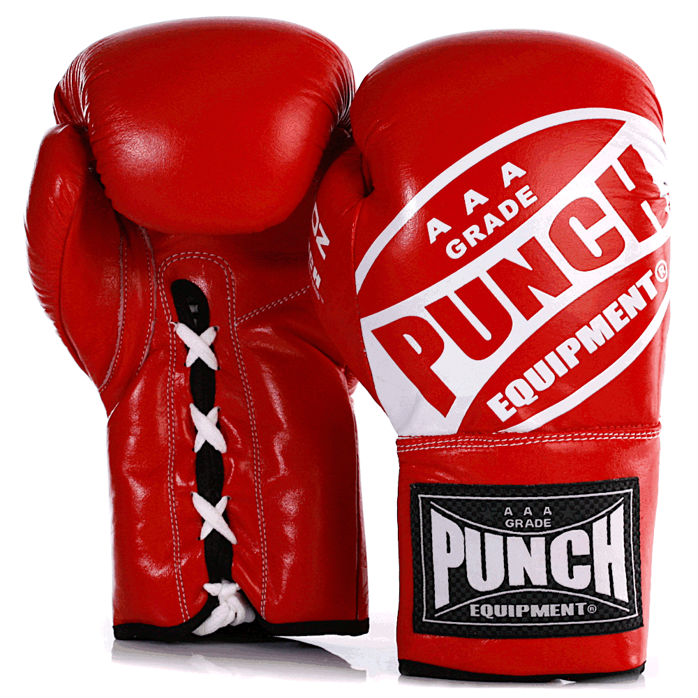 Red Lace Up Boxing Gloves 1 2021 255 1
