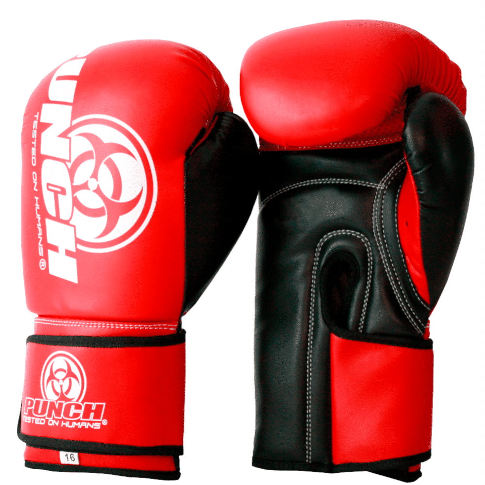 Red Urban Boxing Glove