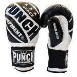 Pro Boxing Bag Gloves Black White