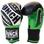 Pro Boxing Bag Gloves Green Black