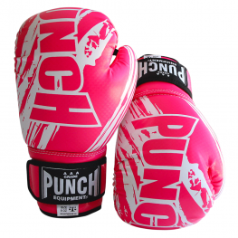 Boxing Gloves for Kids 6 oz Pink
