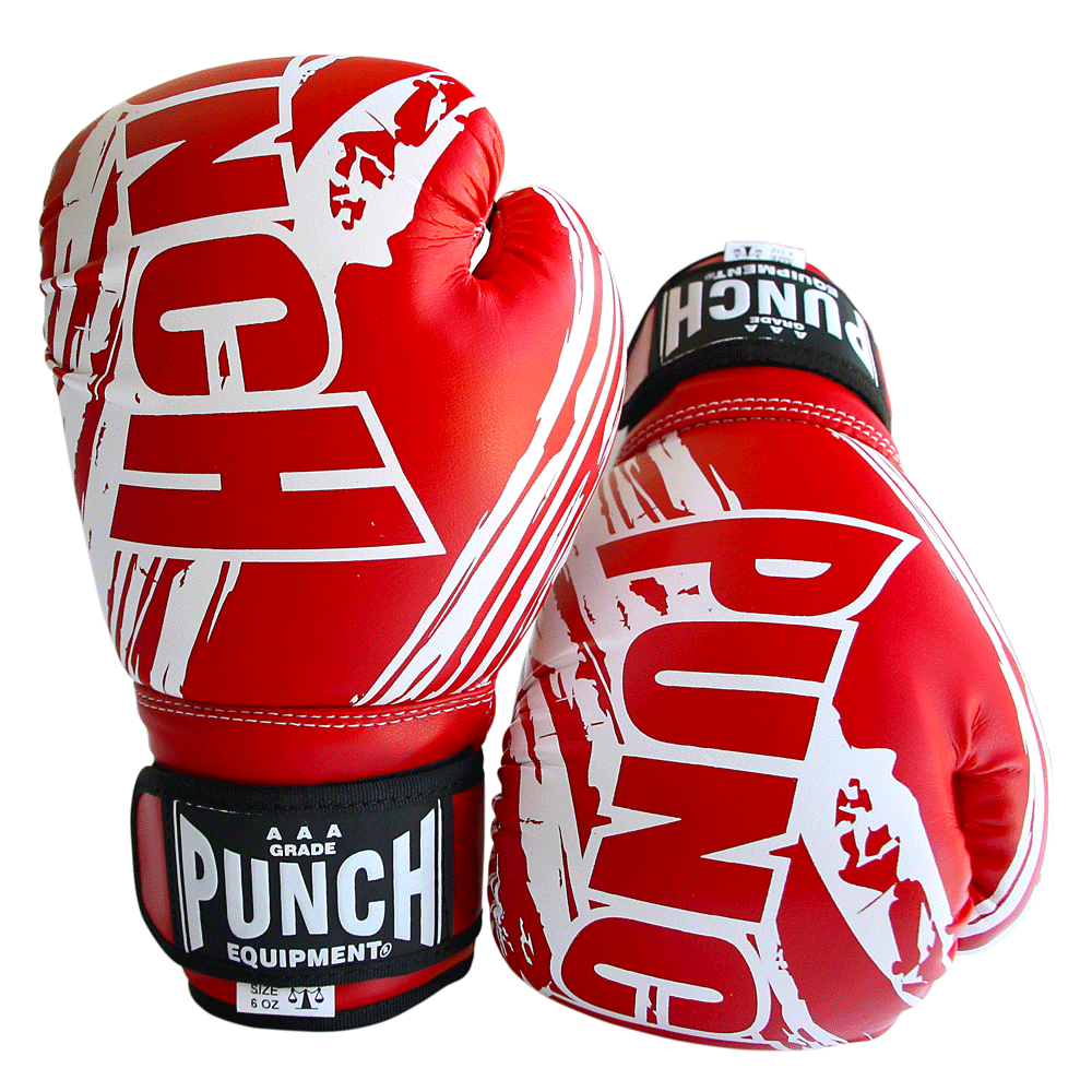 Kids Boxing Gloves Red 6 oz