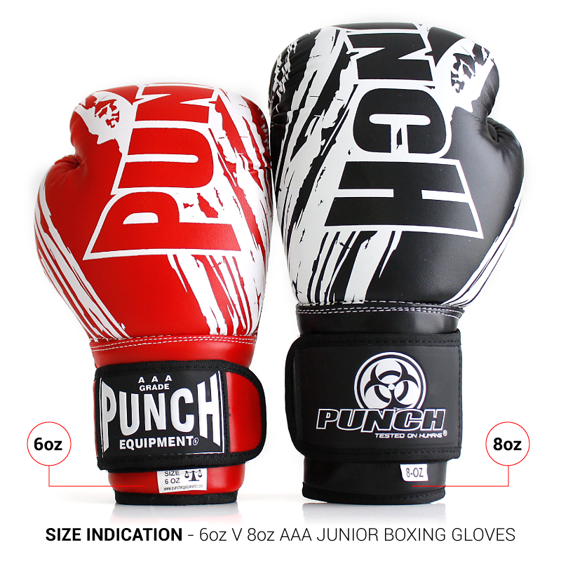 Kids Boxing Gloves 6 oz vs 8 oz