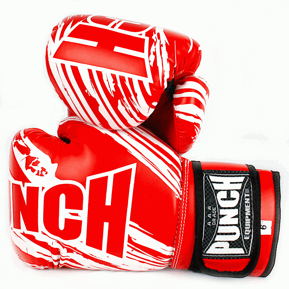 Punch Kids Boxing Glove Red 6oz 2020