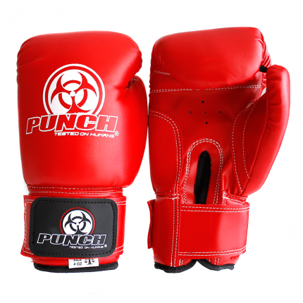 Red 4 oz Urban Kids Boxing Gloves