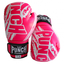 Kids Boxing Gloves Pink 6 oz