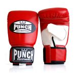 Punch Red Boxing Bag Gloves
