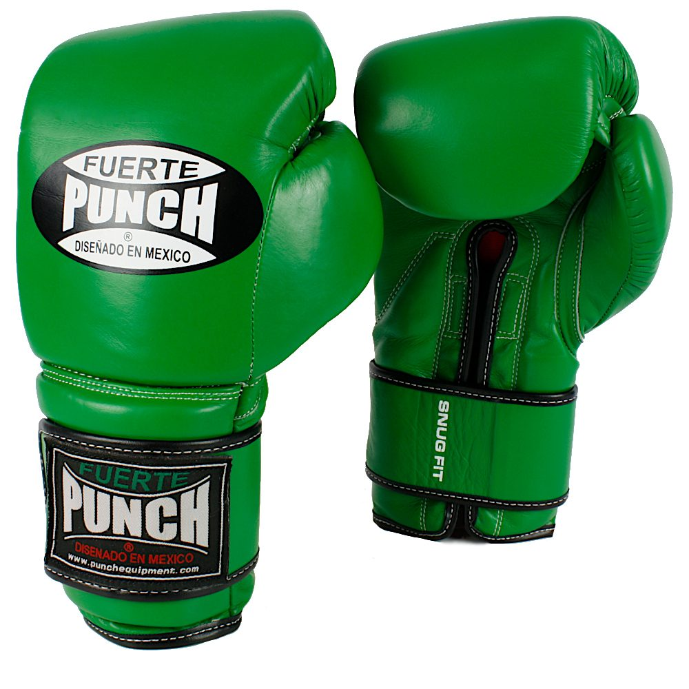 Punch Mexican Gloves Elite Green
