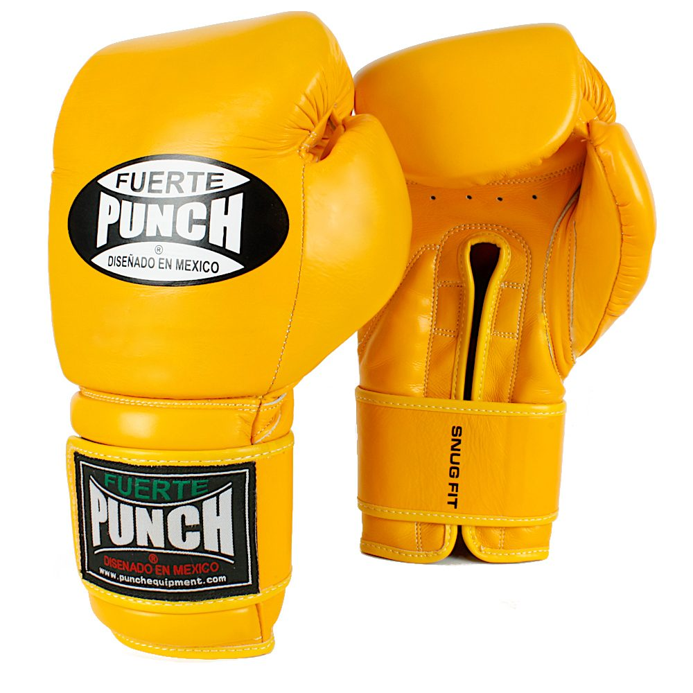 Punch Mexican Gloves Elite Yellow
