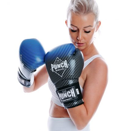 Blue Black Thai Gloves Online