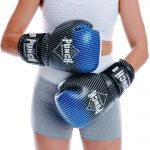 Blue / Black Thai Sparring Glove