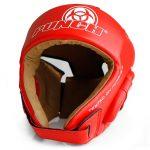 Red Urban Open Face Headgear W