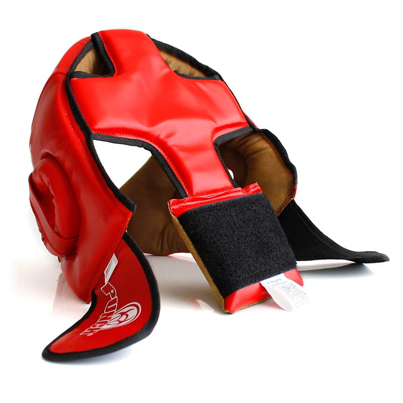 Urban Open Face Boxing Headgear Back