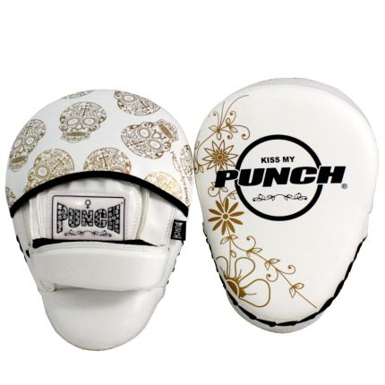 Gold / White Skull Focus Pads