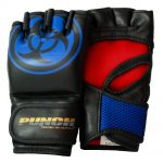 Urban MMA Gloves Black Blue