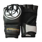 MMA Gloves Black White Urban