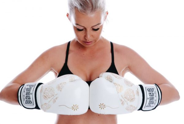White Womens Boxing Gloves