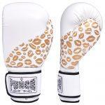 Lip Art Gold White Boxing Gloves