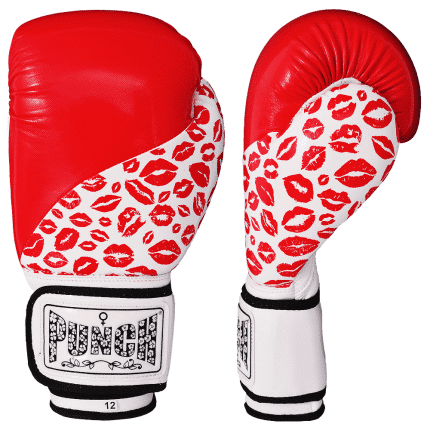 Red Women Training Gloves