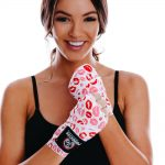 Red Pink Womens Hand Wraps