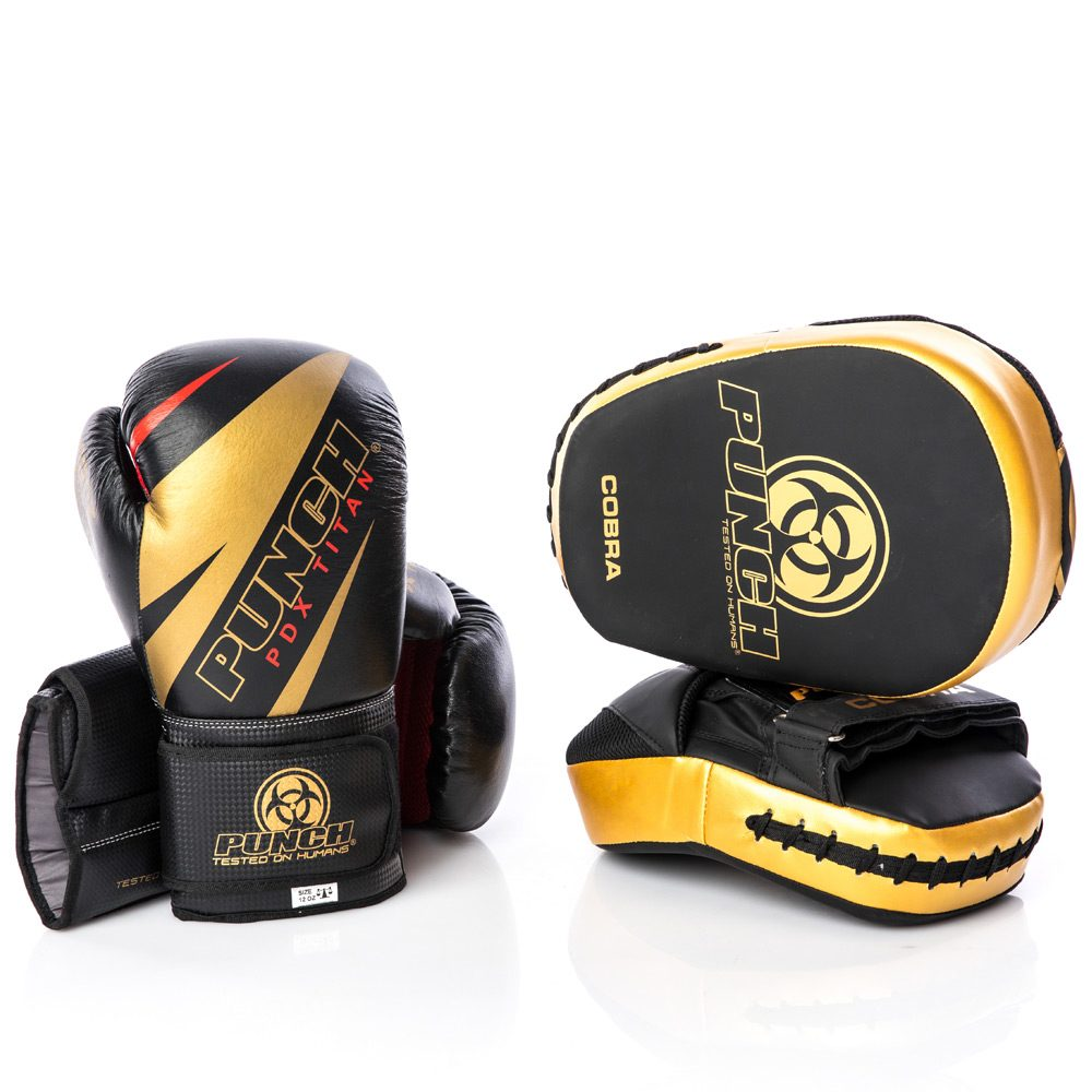 Black Gold Cobra Boxing Range