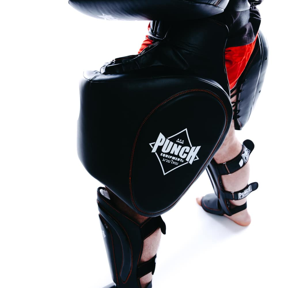 Black Diamond Thigh Pads Side Logo