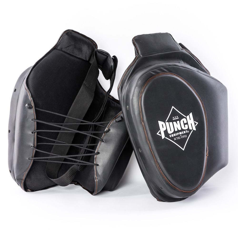 Punch Black Thigh Pads