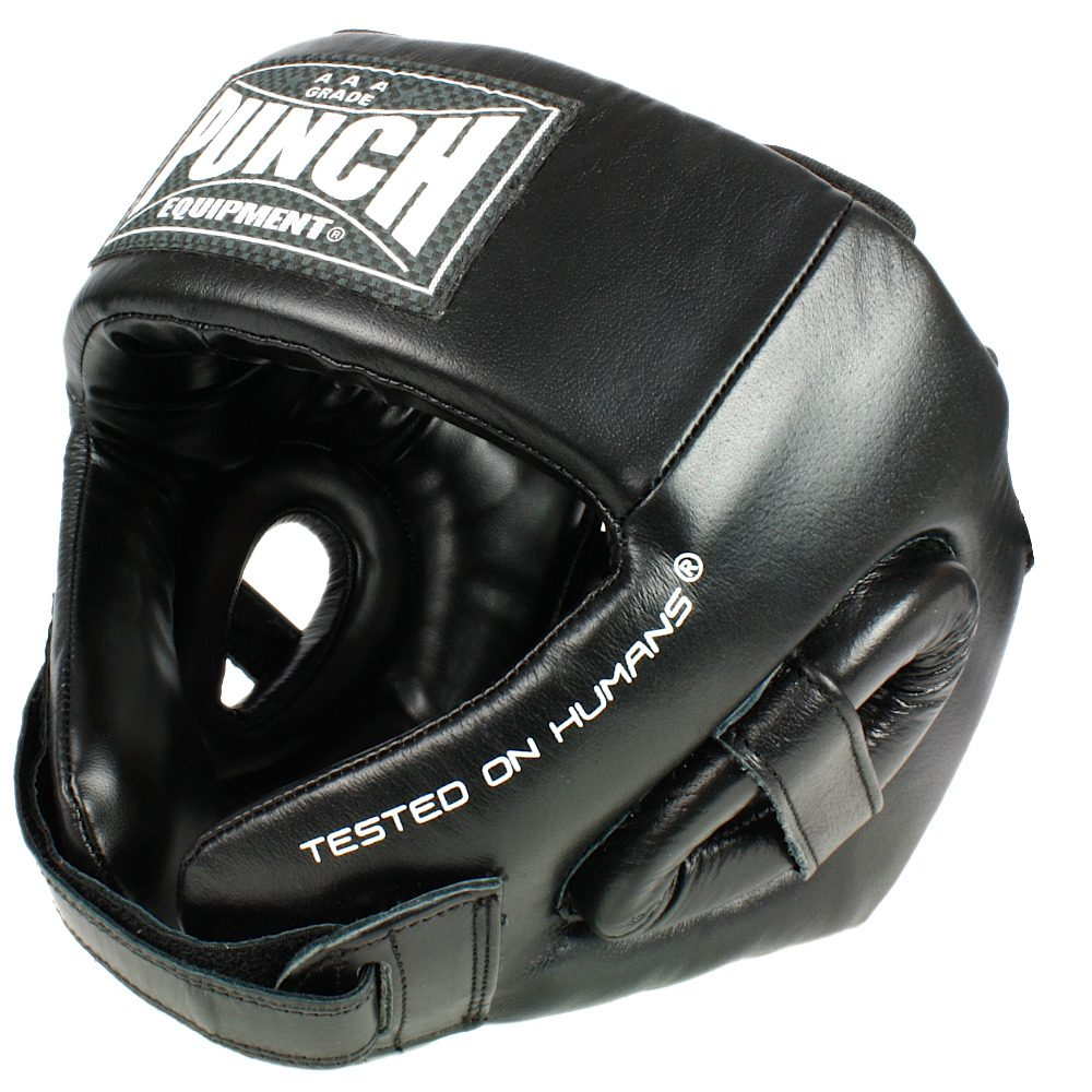 Punch Open Face Headgear 2