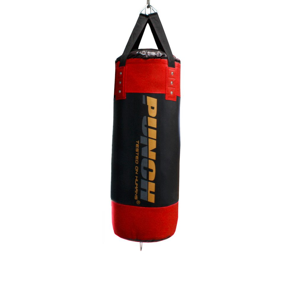 Red 3ft Empty Urban Boxing Bag