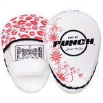 womens focus pads lip art red white
