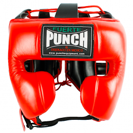 Mexican Boxing Headgear Red