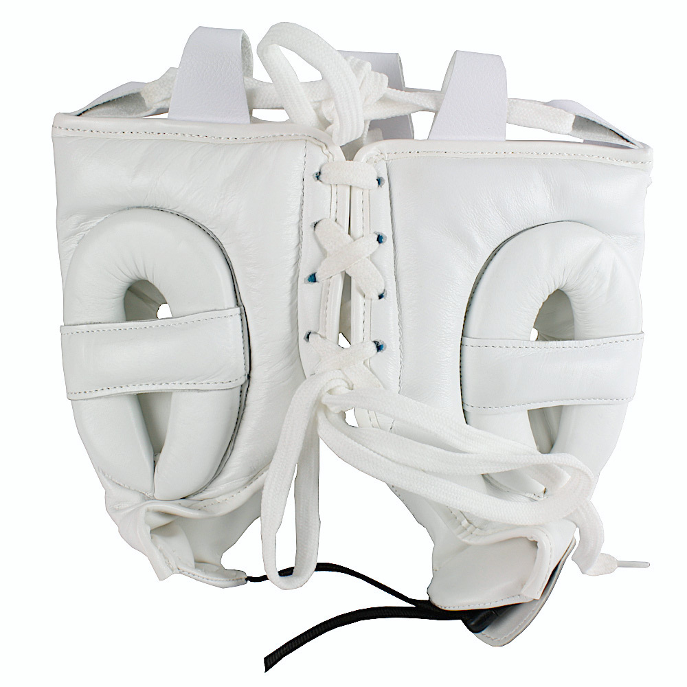 Mexican Boxing Ultra Head Gear White 2 1