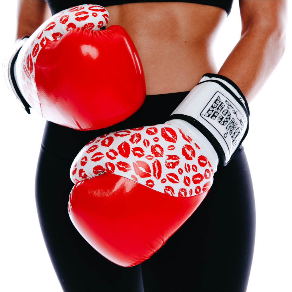 Red Womens Boxing Glove