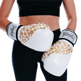 White Gold Ladies Glove