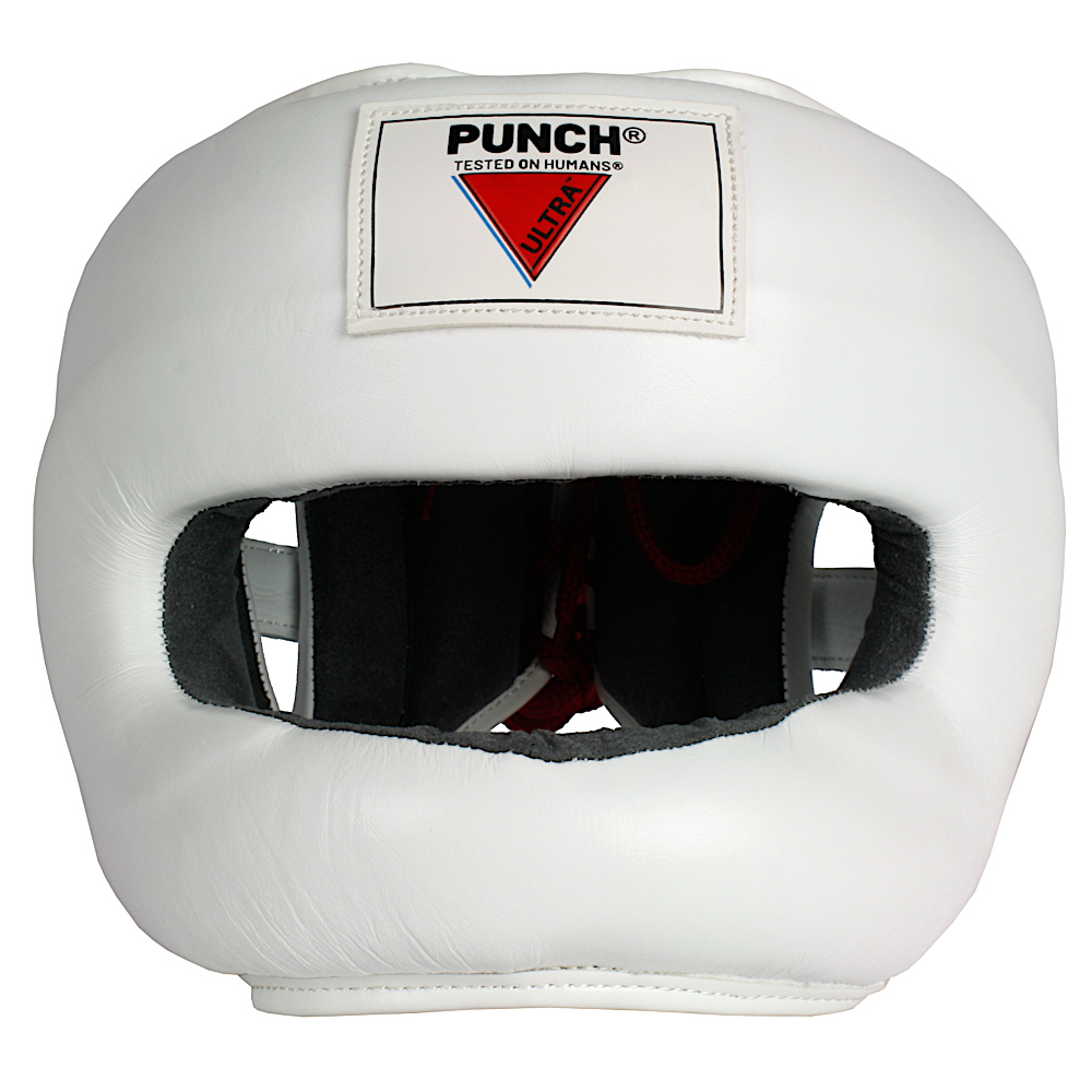 Ultra Nose Protector Head Gear White 1 2