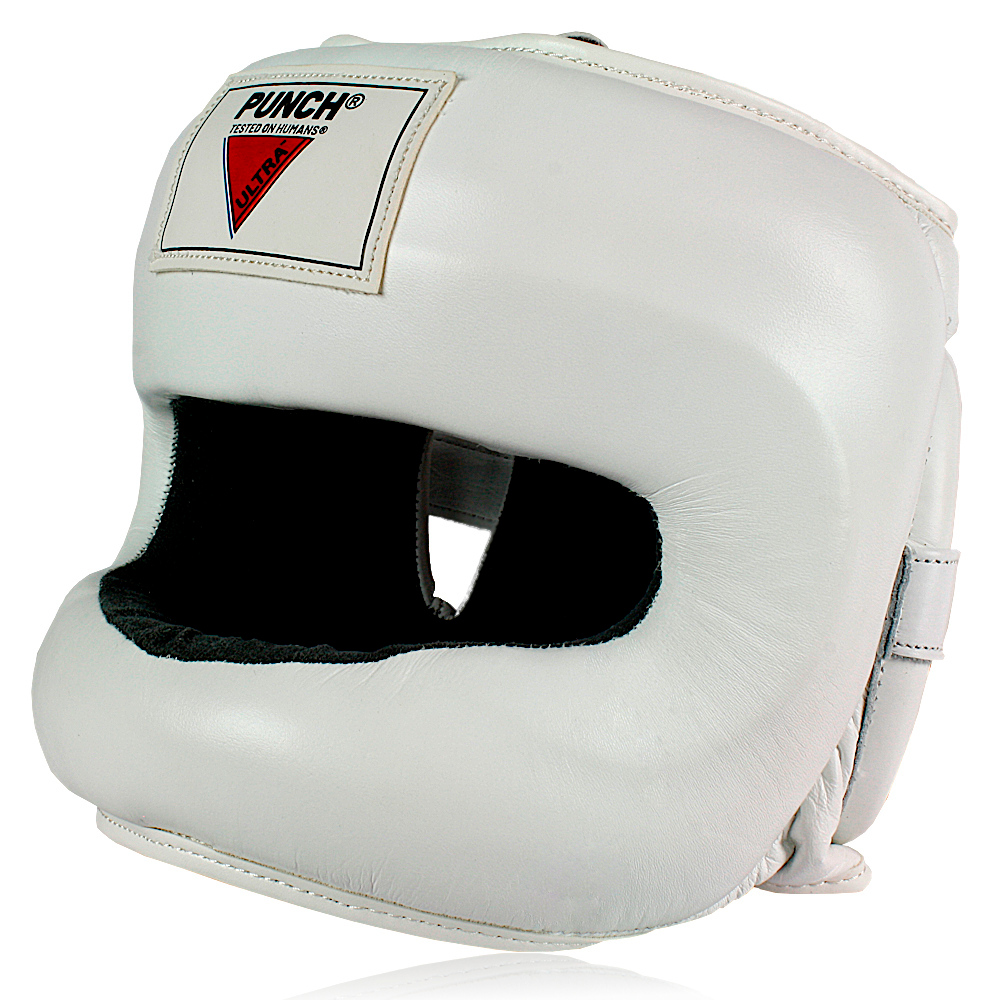 Ultra Nose Protector Head Gear White 3