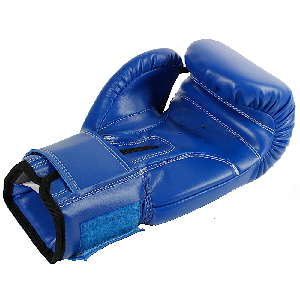 4oz Children Boxing Gloves Blue 2