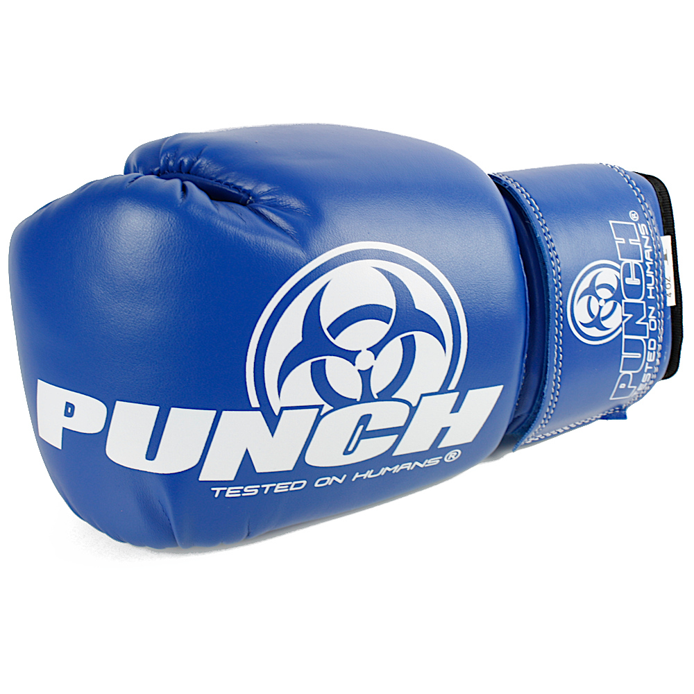 4oz Kids Boxing Glove Blue 3