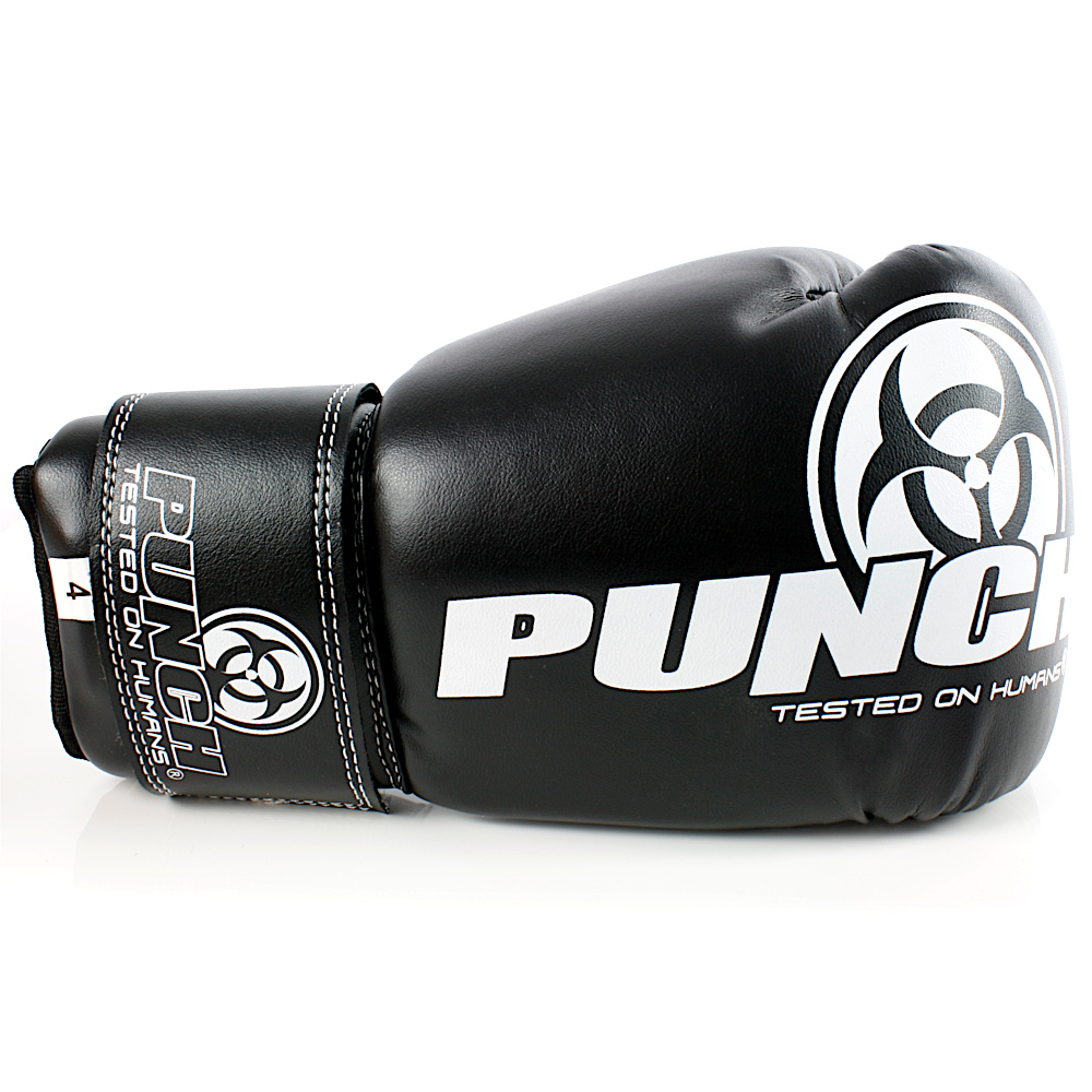Kids Boxing Gloves Black 4oz
