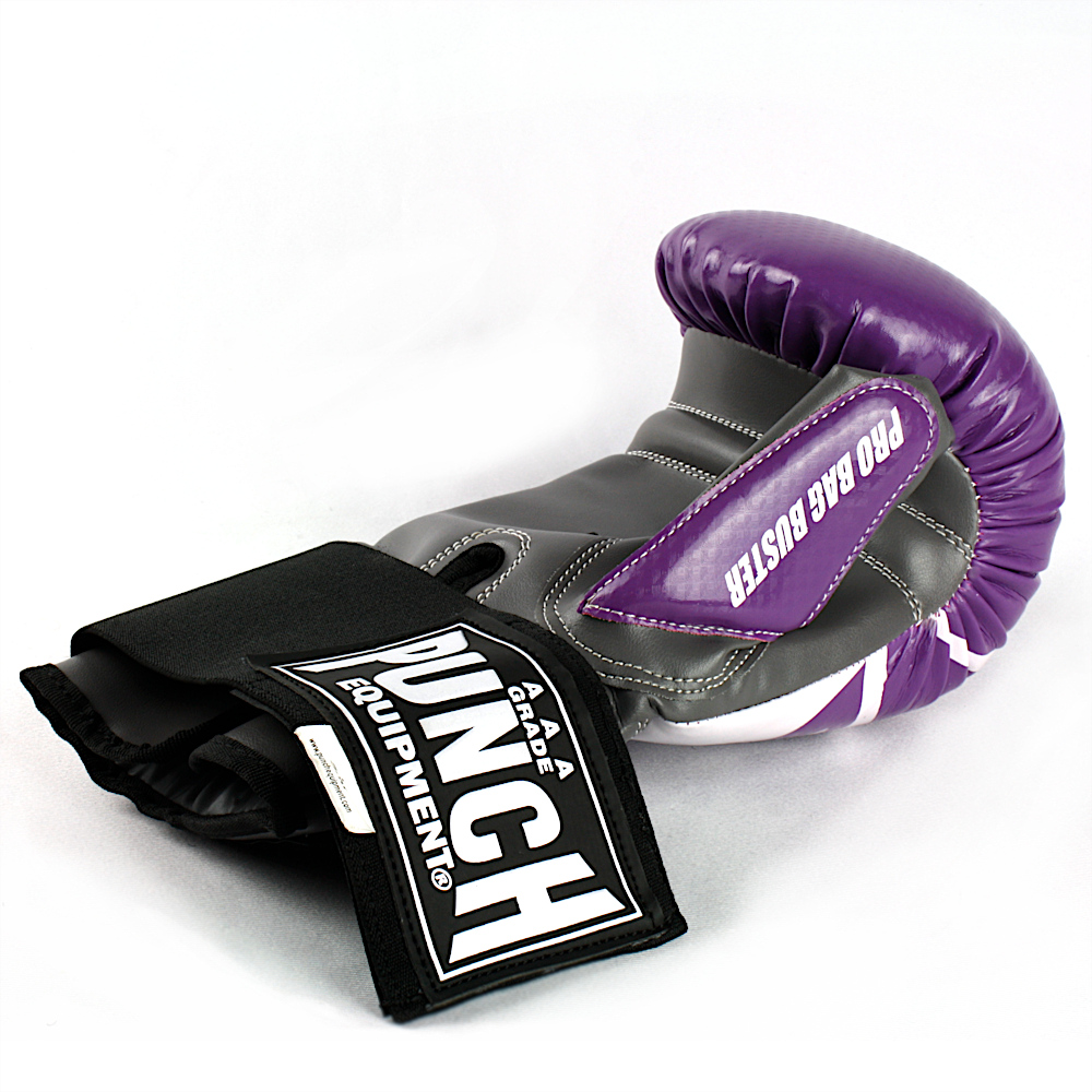 Pro Bag Busters Boxing Mitts Purple Grey 1