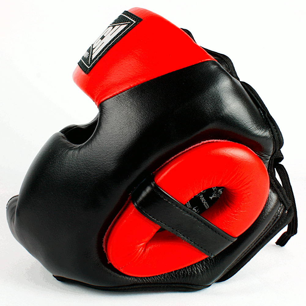Trophy Getters Full Face Boxing Headgear Red 2