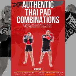 Muay Thai Combos Book