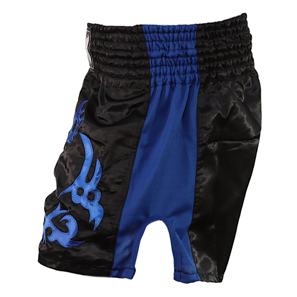 Blue Tested On Humans Thai Shorts 3