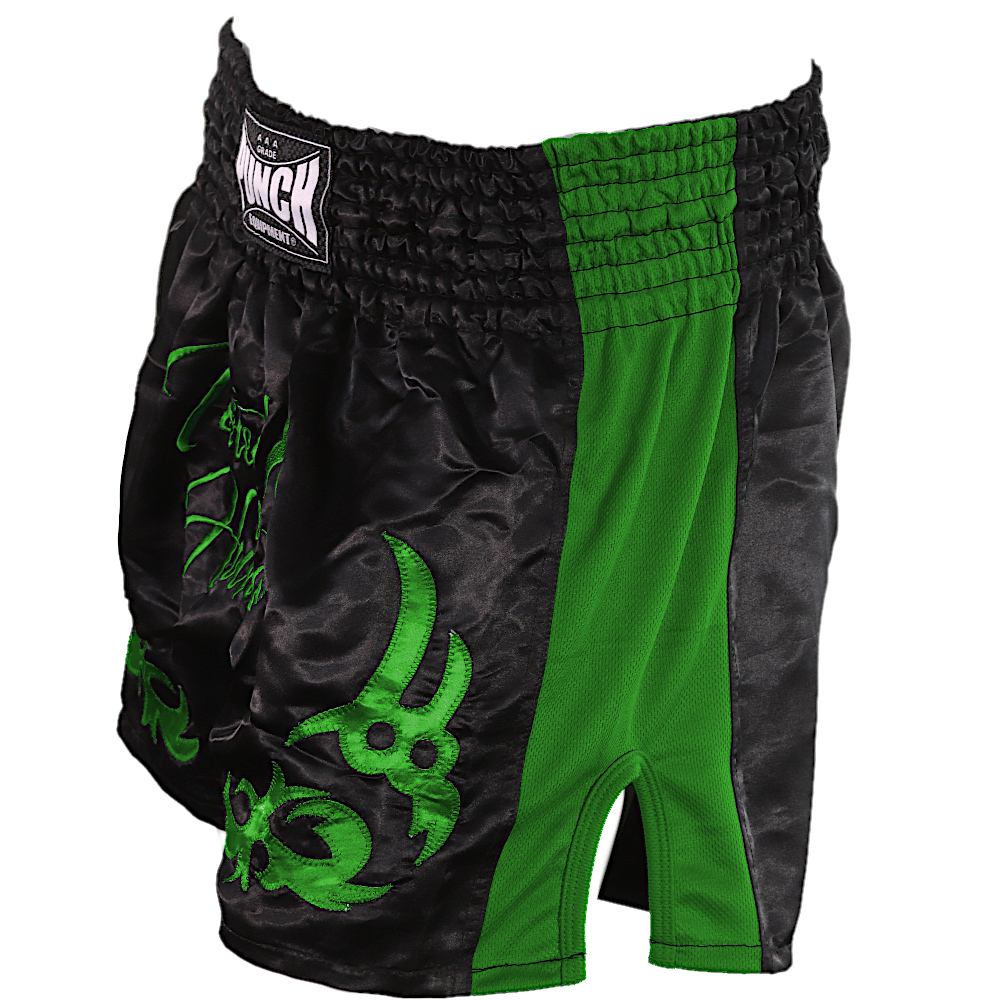 Green Tested On Humans Thai Shorts 1